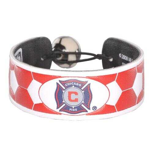 Chicago Fire Bracelet Team Color Soccer