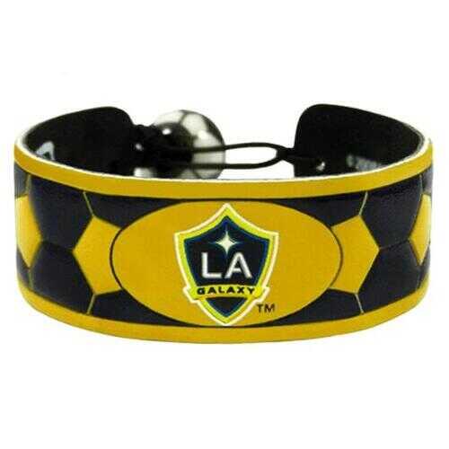 Los Angeles Galaxy Team Color Soccer Bracelet