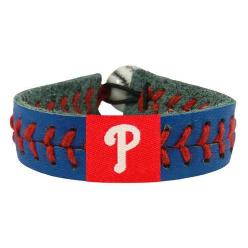 Philadelphia Phillies Bracelet Team Color Baseball