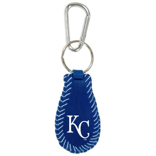Kansas City Royals Keychain Team Color Baseball