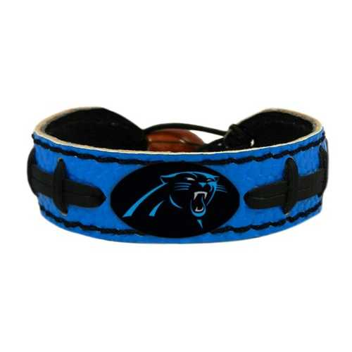 Carolina Panthers Bracelet Team Color Football
