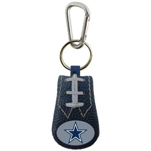 Dallas Cowboys Keychain Team Color Football