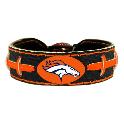 Denver Broncos Bracelet Team Color Football