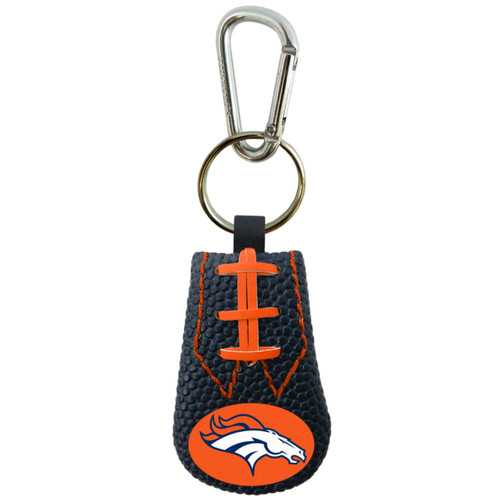 Denver Broncos Keychain Team Color Football