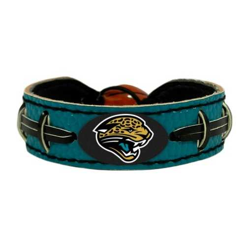 Jacksonville Jaguars Bracelet Team Color Football Alternate