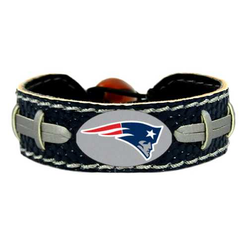 New England Patriots Bracelet Team Color Football