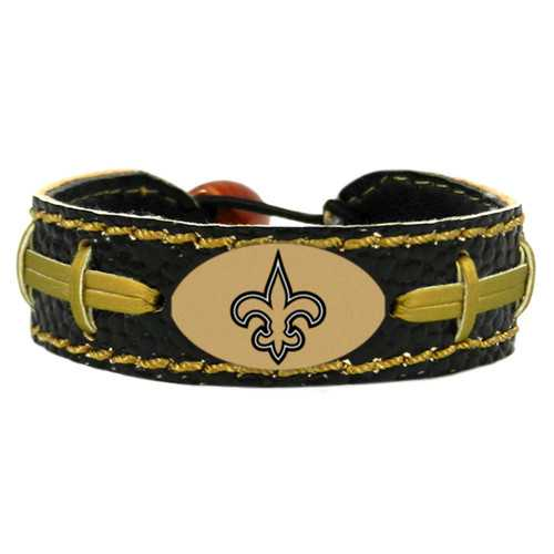 New Orleans Saints Bracelet Team Color Football