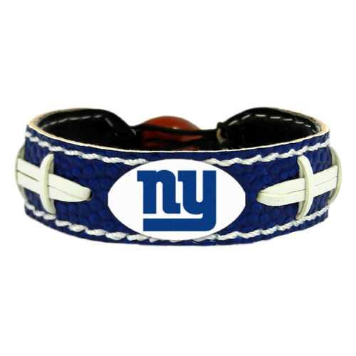 New York Giants Bracelet Team Color Football