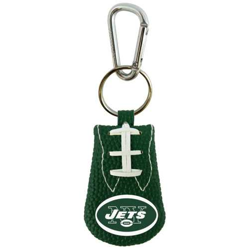 New York Jets Keychain Team Color Football