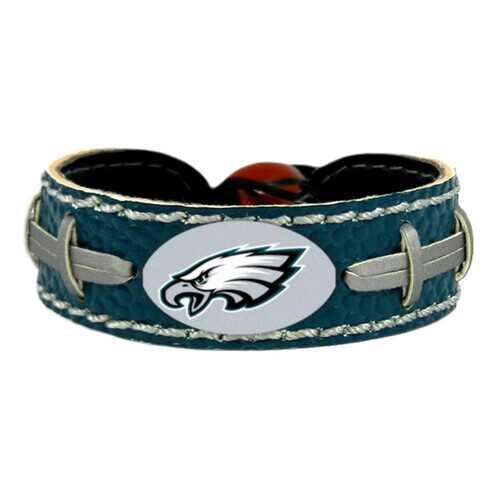 Philadelphia Eagles Bracelet Team Color Football