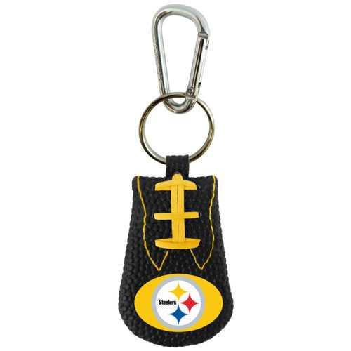Pittsburgh Steelers Keychain Team Color Football