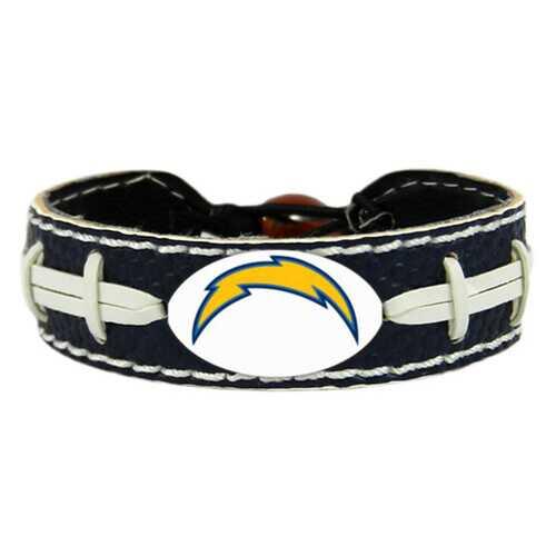 San Diego Chargers Team Color Football Bracelet
