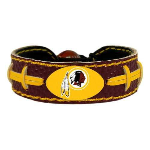 Washington Redskins Bracelet Team Color Football