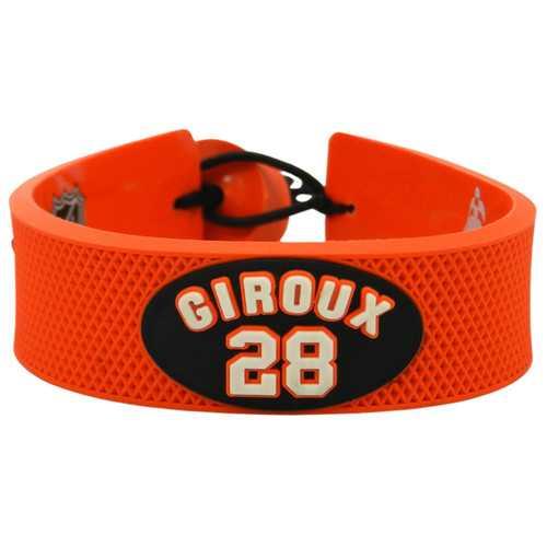 Philadelphia Flyers Bracelet Team Color Jersey Claude Giroux Design