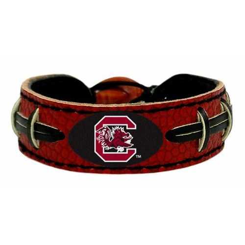 South Carolina Gamecocks Bracelet Team Color Football