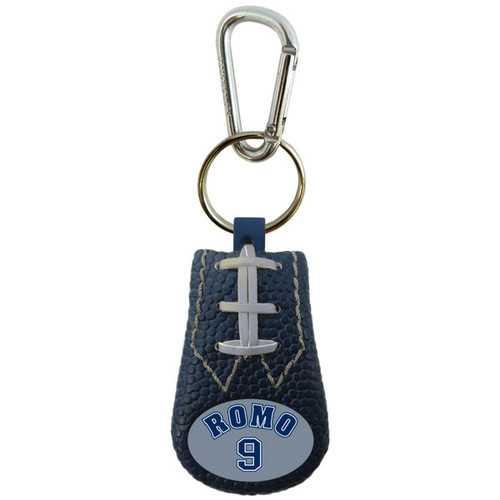 Tony Romo Team Color NFL Jersey Football Keychain