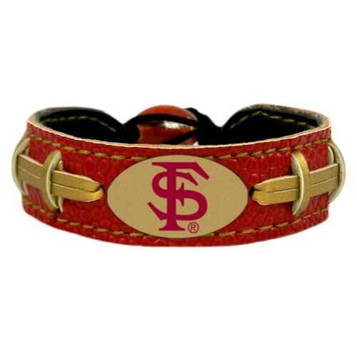 Florida State Seminoles Bracelet Team Color Football Seminole Head Logo