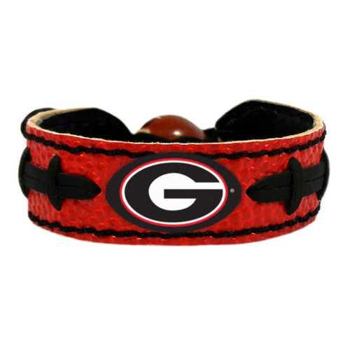 Georgia Bulldogs Bracelet Team Color Football