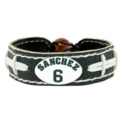 New York Jets Bracelet Team Color Mark Sanchez Design