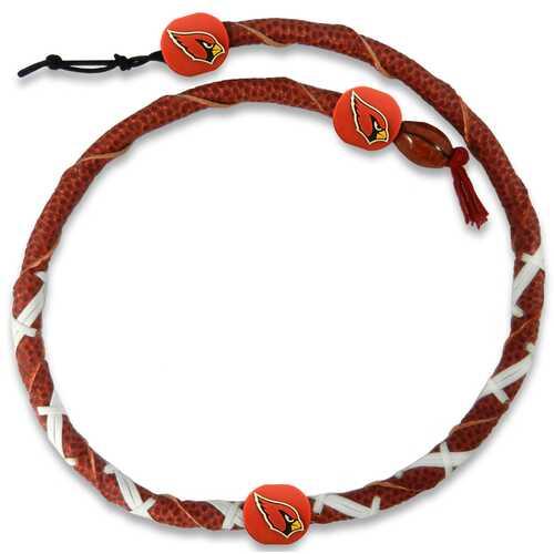 Arizona Cardinals Necklace Spiral Football