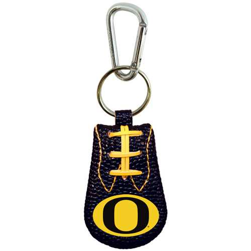 Oregon Ducks Team Color Football Keychain