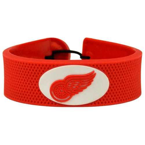 Detroit Red Wings Bracelet Team Color Hockey