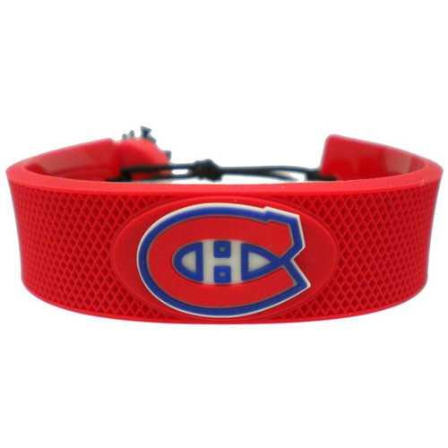 Montreal Canadiens Bracelet Team Color Hockey