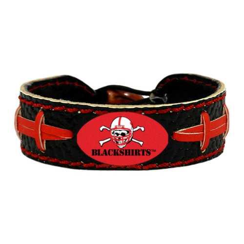 Nebraska Cornhuskers Bracelet Team Color Football Blackshirts