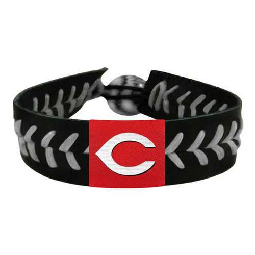 Cincinnati Reds Bracelet Team Color Baseball