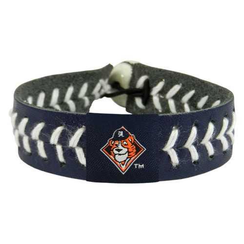 Detroit Tigers Bracelet Team Color Baseball Mascot