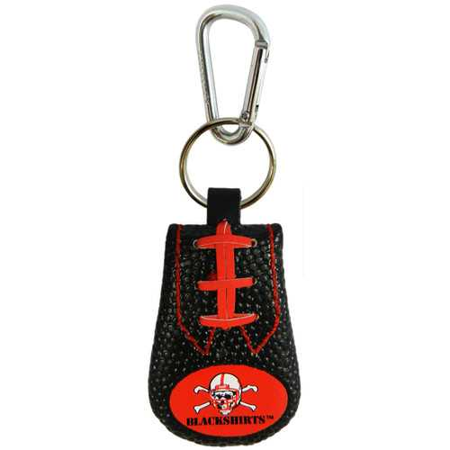 Nebraska Cornhuskers Keychain Team Color Football Blackshirts