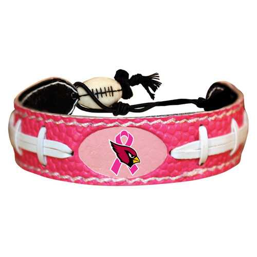 Arizona Cardinals Bracelet Pink Football Breast Cancer Awareness Ribbon