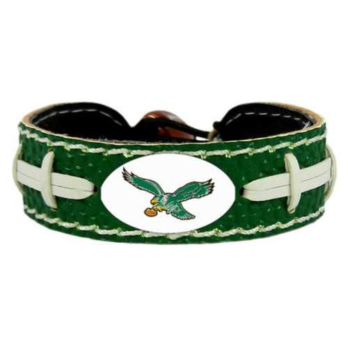 Philadelphia Eagles Bracelet Team Color Football Retro