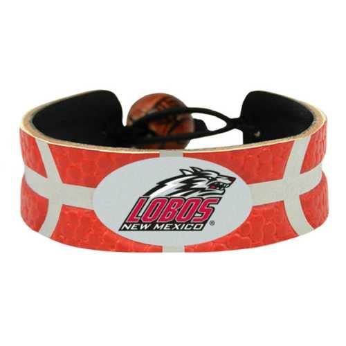 New Mexico Lobos Bracelet Team Color Basketball