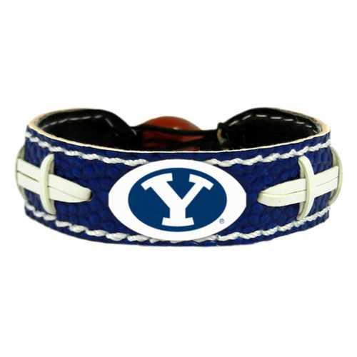 BYU Cougars Team Color Football Bracelet