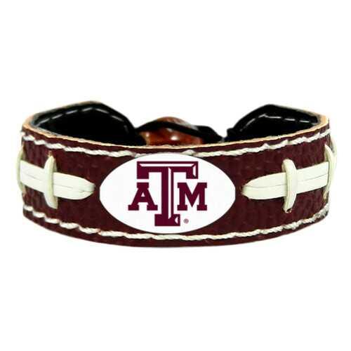 Texas A&M AggiesTeam Color Football Bracelet