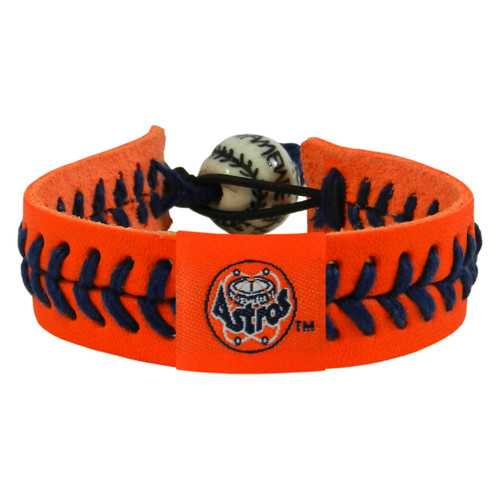 Houston Astros Bracelet Team Color Baseball Retro 80's Logo