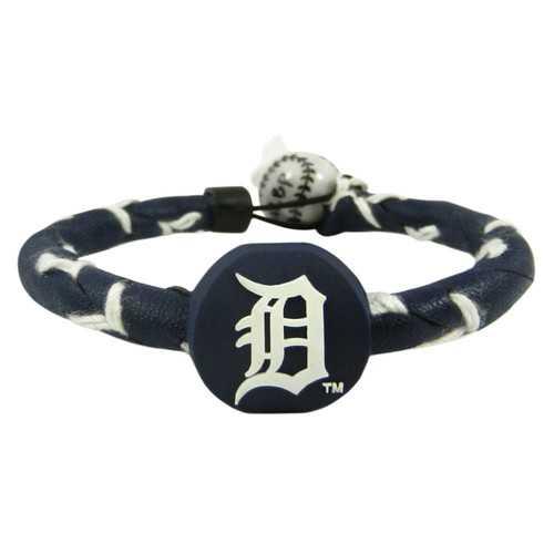 Detroit Tigers Bracelet Frozen Rope Team Color Baseball
