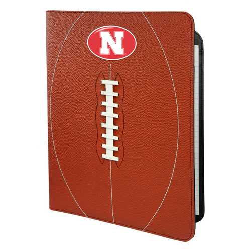 Nebraska Cornhuskers Classic Football Portfolio - 8.5 in x 11 in