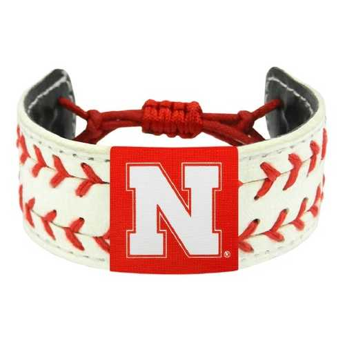 Nebraska Cornhuskers Bracelet Classic Two Seamer