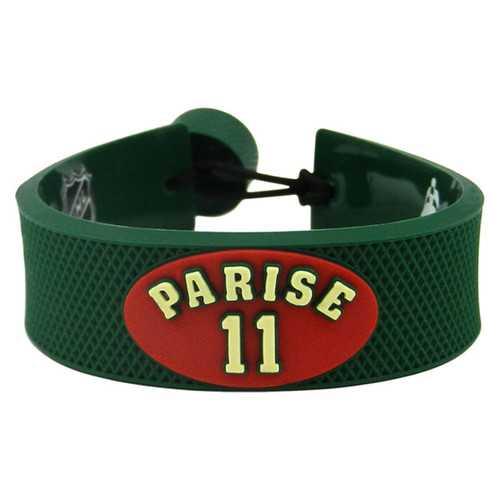 Minnesota Wild Bracelet Team Color Jersey Zach Parise Design