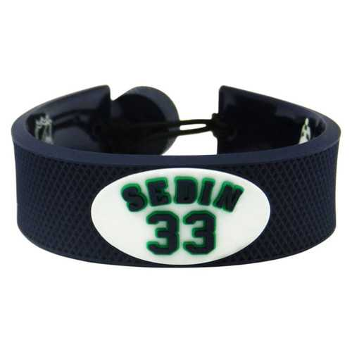 Vancouver Canucks Bracelet Team Color Jersey Henrik Sedin Design