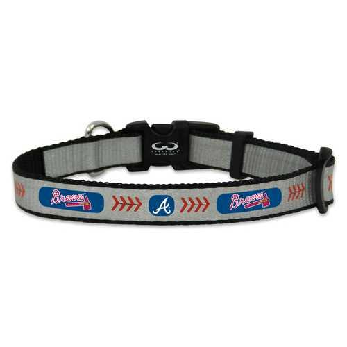 Atlanta Braves Reflective Toy Baseball Collar