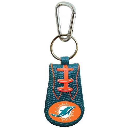Miami Dolphins Keychain Team Color Football