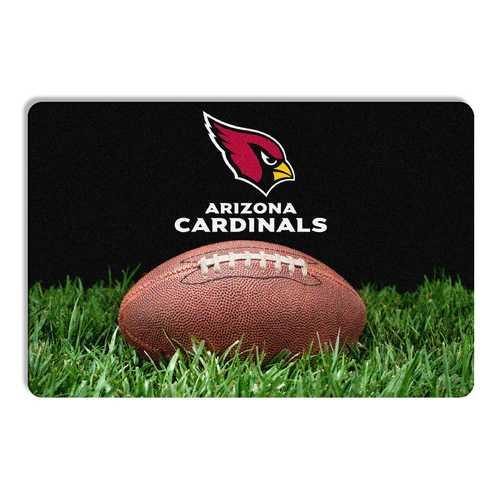 Arizona Cardinals Pet Bowl Mat Classic Football Size Large