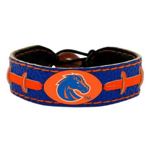 Boise State Broncos Team Color Football Bracelet