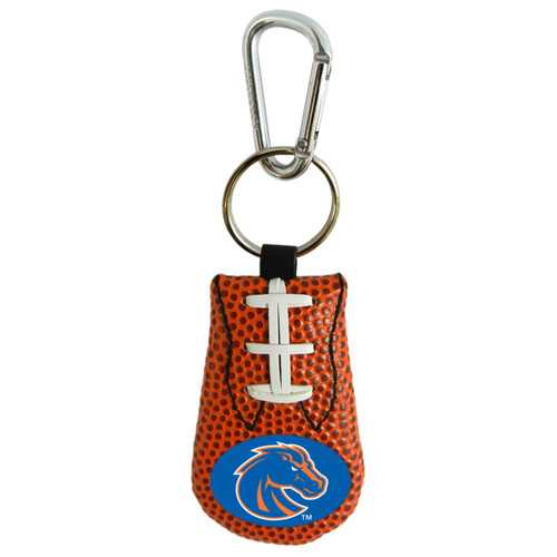 Boise State Broncos Keychain Team Color Football