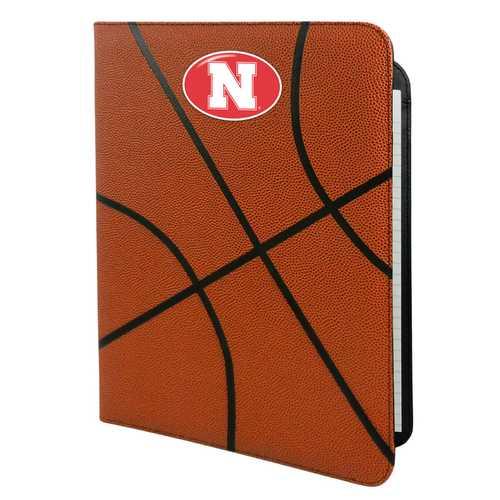 Nebraska Cornhuskers Classic Basketball Portfolio - 8.5 in x 11 in