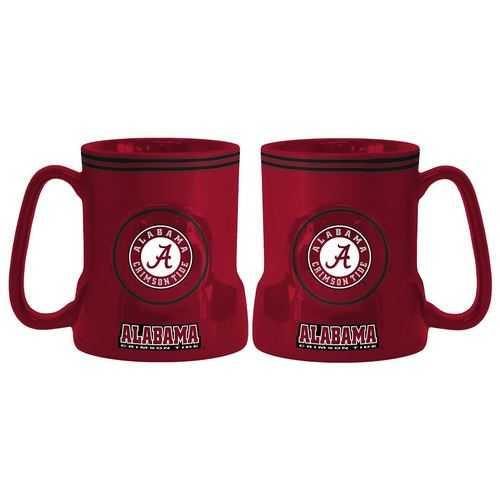 Alabama Crimson Tide Coffee Mug - 18oz Game Time