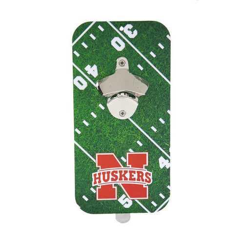 Nebraska Cornhuskers Bottle Opener Magnetic Clink N Drink
